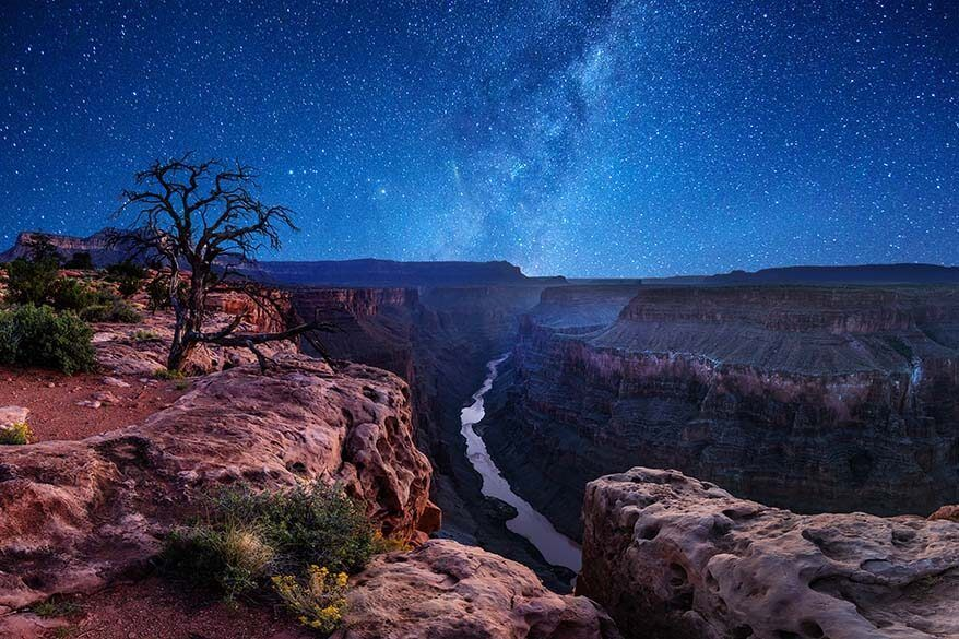 Stargazing at Grand Canyon National Park