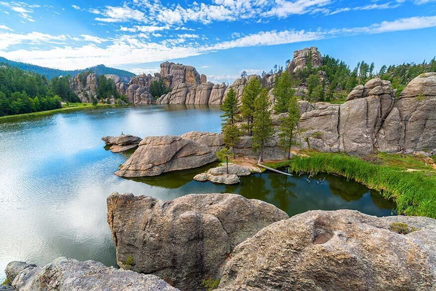 Sylvan Lake - must see in Custer State Park