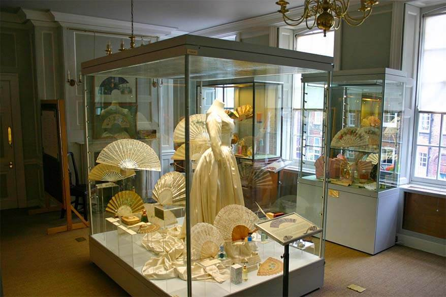 The Fan Museum is one of the lesser known places to see in Greenwich London