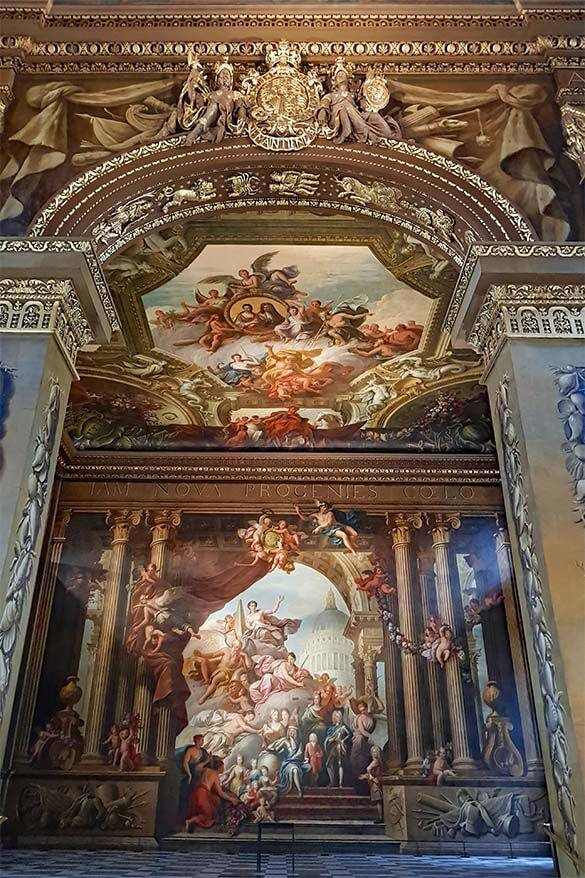 The Painted Hall - one of the best things to do in Greenwich