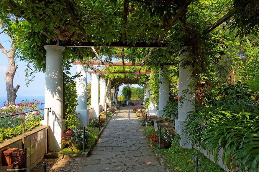 Things to do in Capri - Villa San Michele