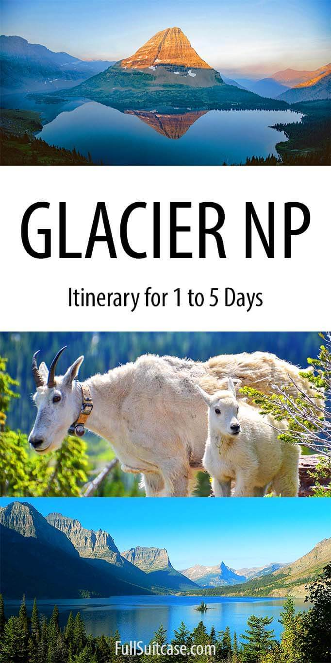Things to do in Glacier NP in one to five days
