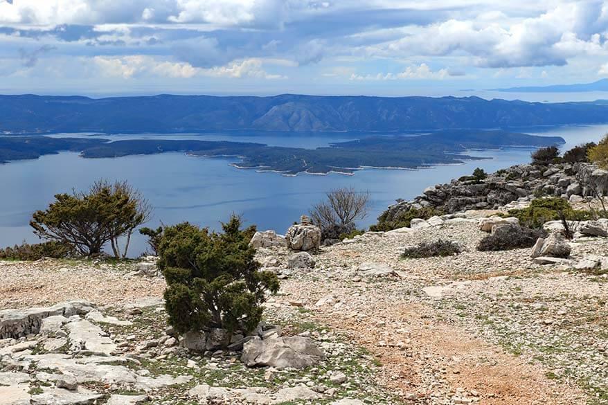 Vidova Gora - one of the best things to do on Brac island in Croatia