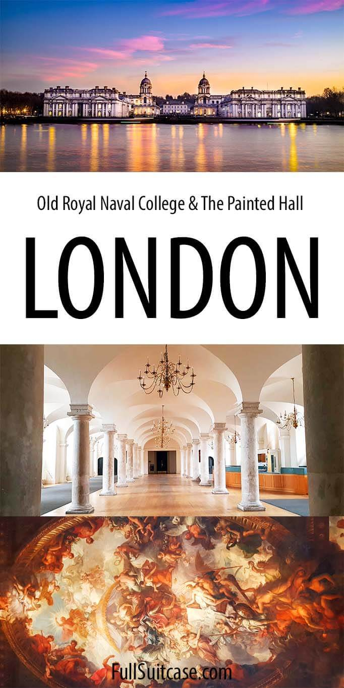 Visiting the Painted Hall and the Old Royal Naval College in Greenwich London