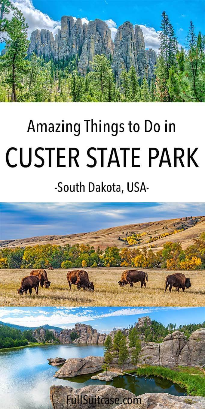 What to see and do in Custer State Park