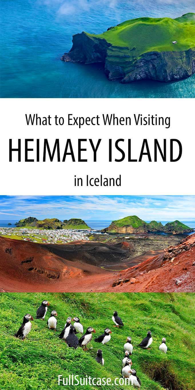 Guide to visiting the island Heimaey in Iceland