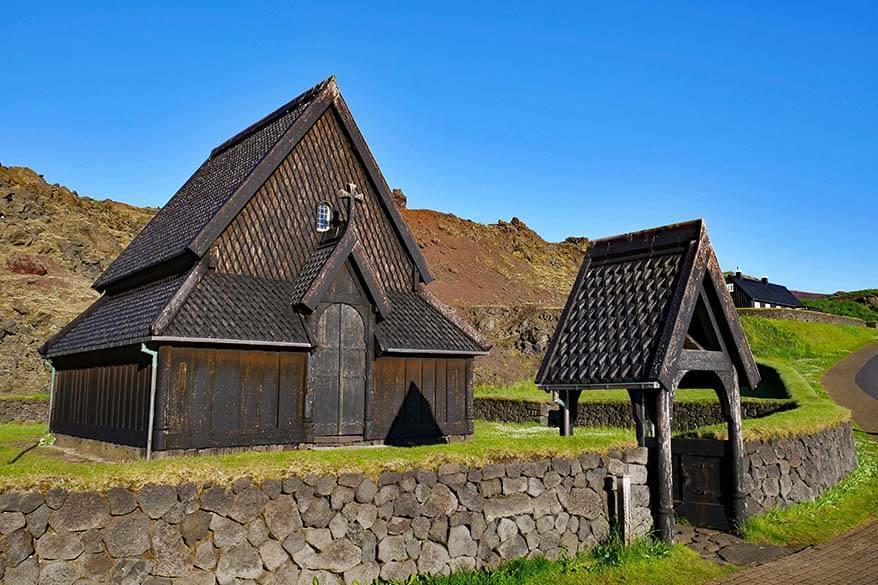 Stafkirkjan in Vestmannaeyjabaer - Westman Islands