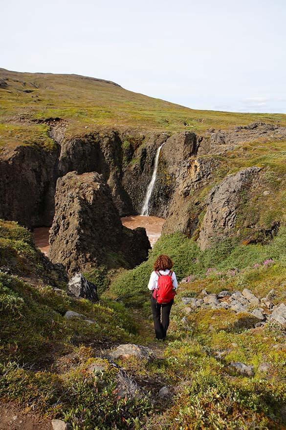 Hiking on Disko Island in Greenland