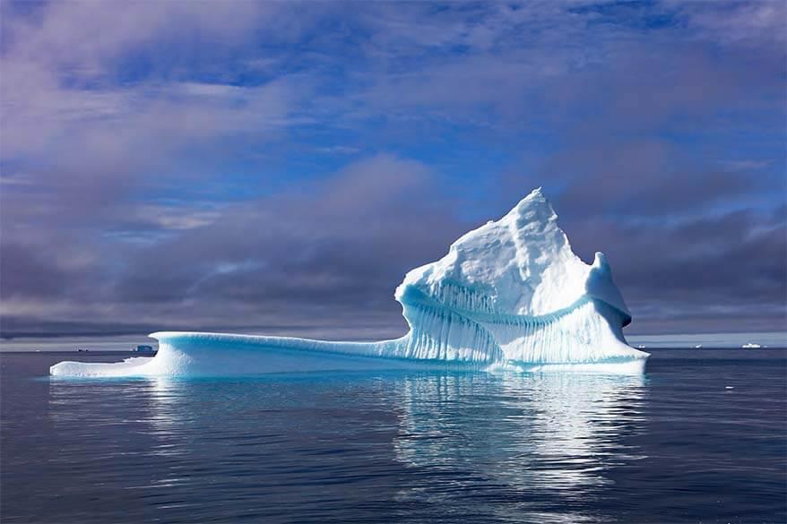 Iceberg in Disko Bay Greenland