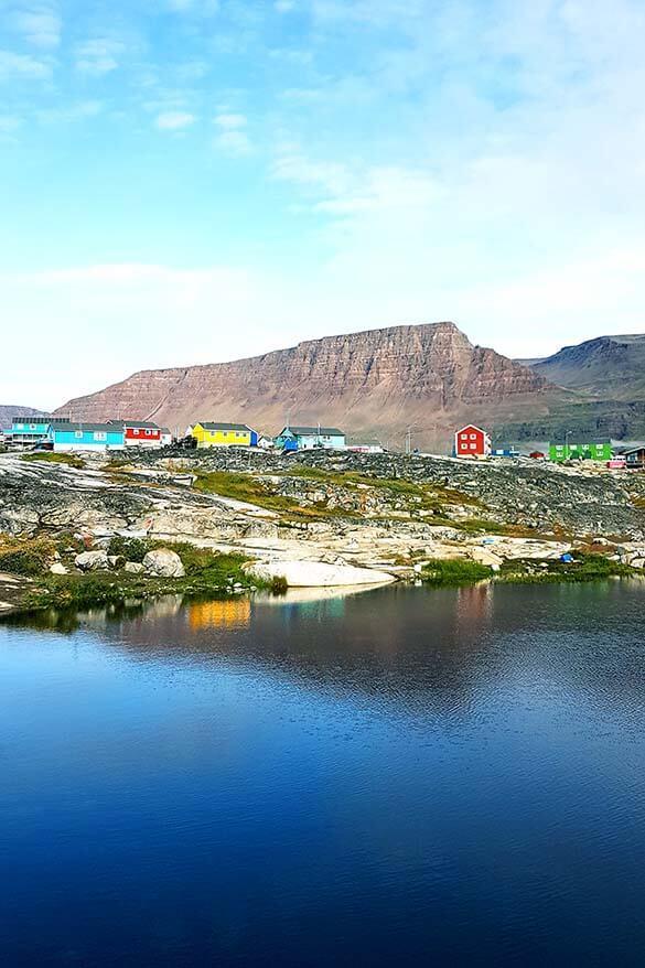 Qeqertarsuaq on Disko Island in Greenland