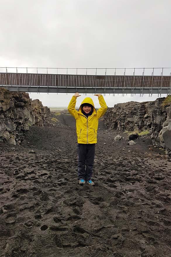 Bridge Between Continents - Reykjanes Peninsula Iceland