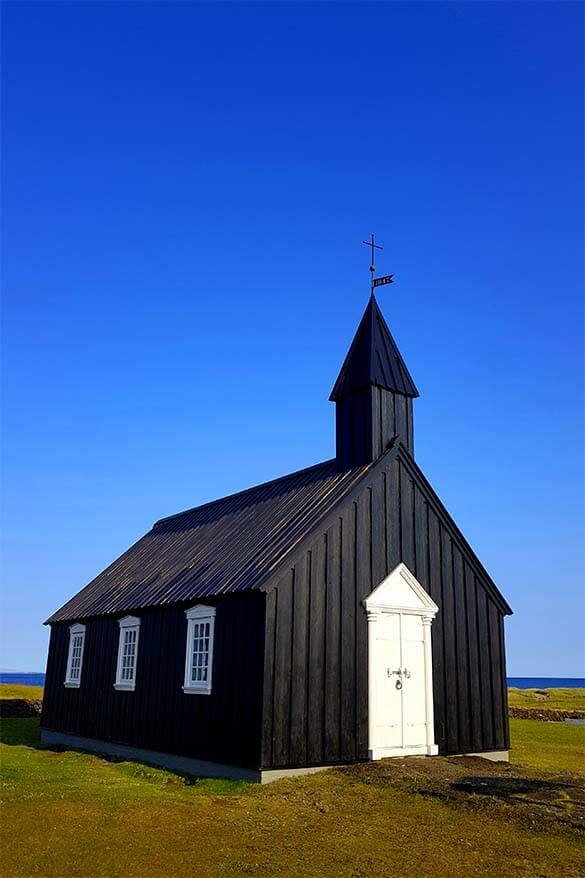 Budakirkja is considered one of the best places to see on Snaefellsnes Peninsula in Iceland