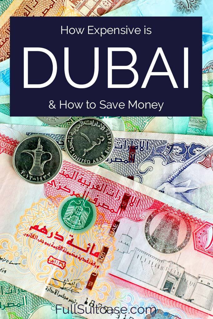 How expensive is Dubai and how to save money on your trip