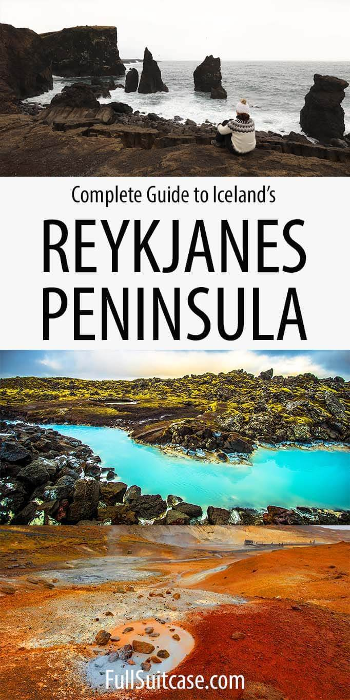 How to visit Reykjanes Peninsula in Iceland - complete travel guide