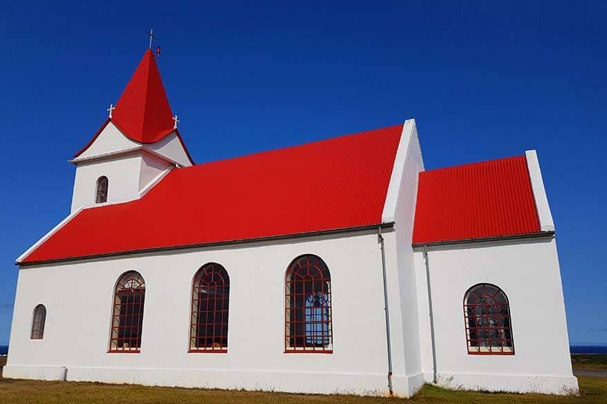 Ingjaldsholskirkja is one of the hidden gems of Snaefellsnes Peninsula in Iceland
