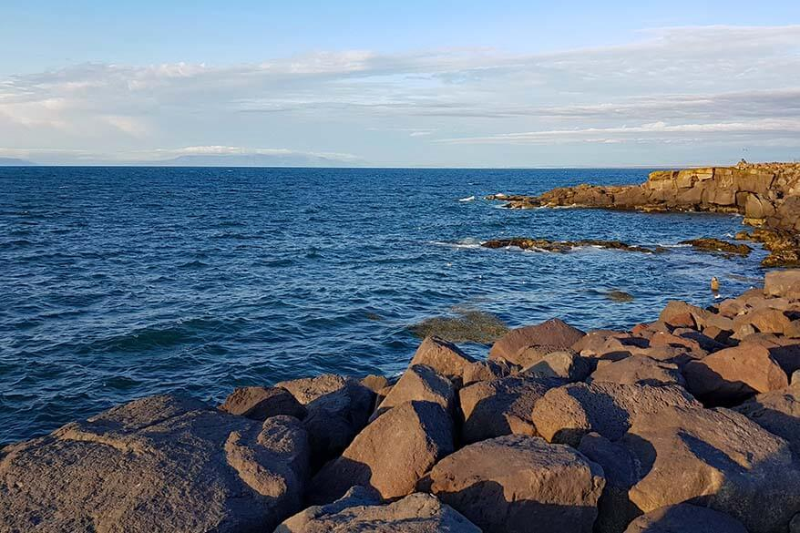 Keflavik harbor area - one of the best places to stay in Reykjanes Peninsula