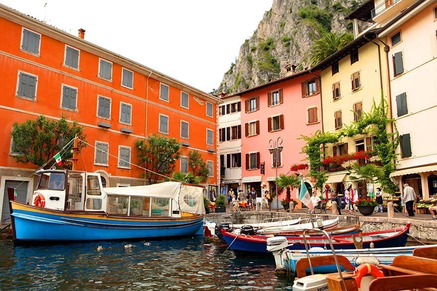 Limone sul Garda is one of the best places to see in Lake Garda Italy