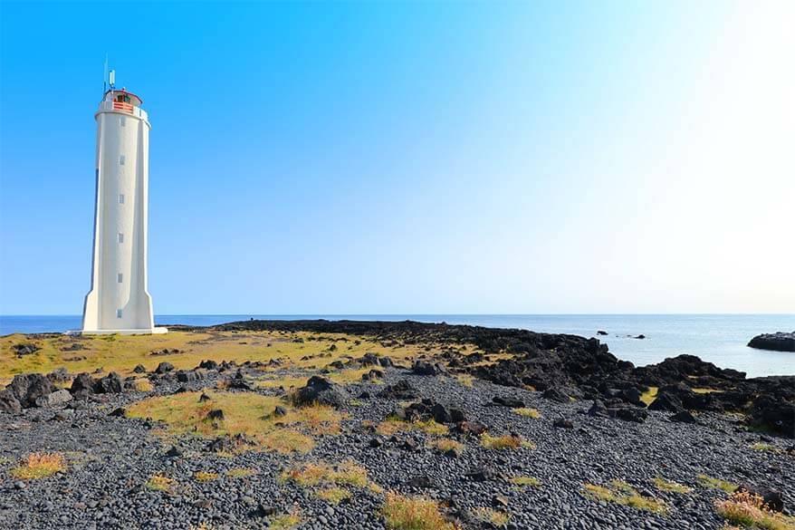 Malariff Lighthouse in Iceland