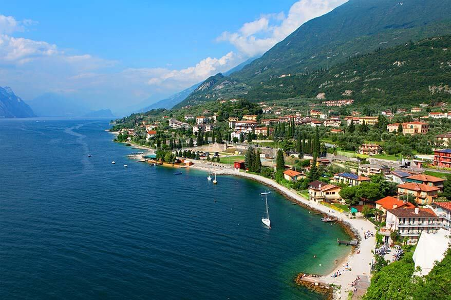 Malcesine is one of the most beautiful Lake Garda towns