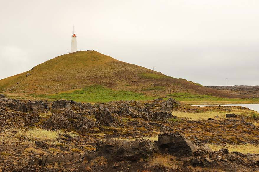 Reykjanes Lighthouse - one of the best things to do in Reykjanes Peninsula in Iceland