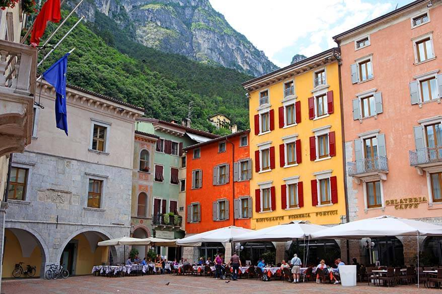 Riva del Garda Old Town is among must do things in Lake Garda Italy