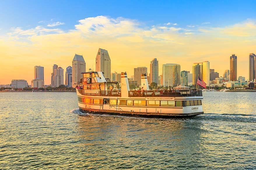 San Diego harbor cruise - one of the best things to do for any visit to San Diego city