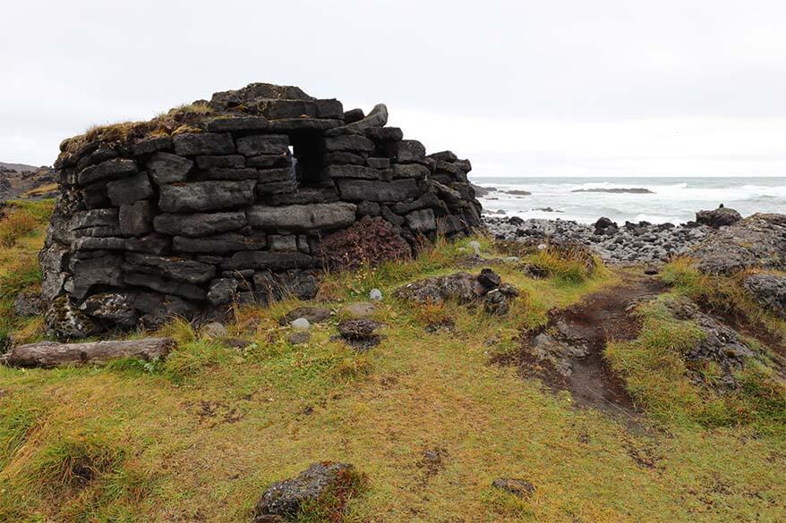 Selatangar fishermen's station ruins - a hidden gem of Reykjanes Peninsula in Iceland