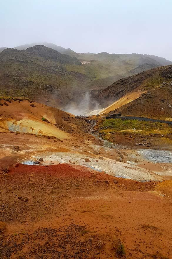 Seltun geothermal area is among the best things to do in Reykjanes Peninsula in Iceland
