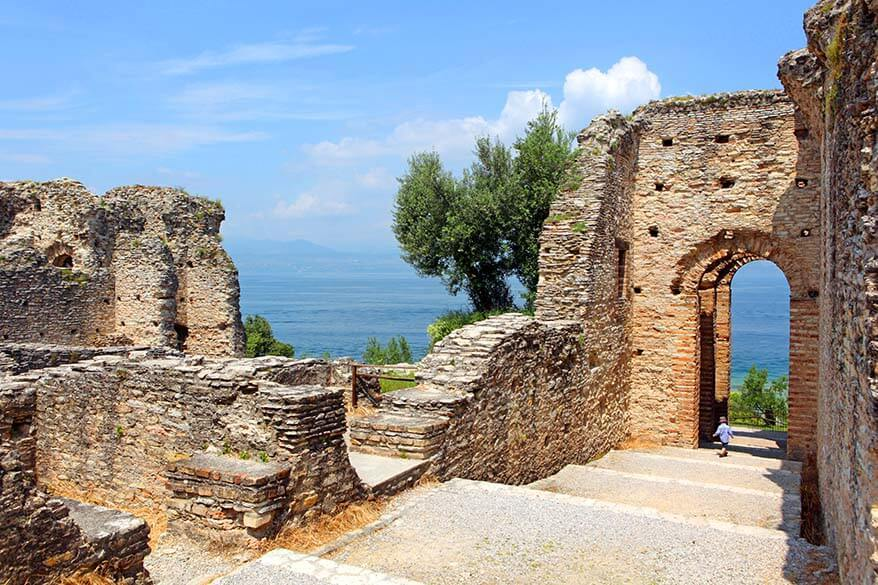 Sirmione is one of the most beautiful towns on Lake Garda