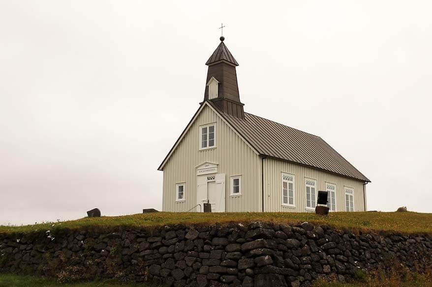 Strandakirkja - places to visit on Reykjanes Peninsula in Iceland