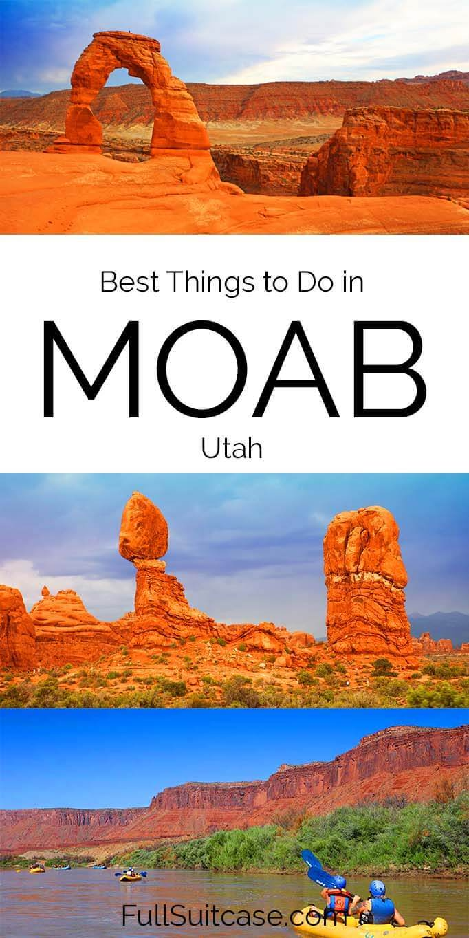 Things to do in Moab and trip itinerary for 2 to 3 days