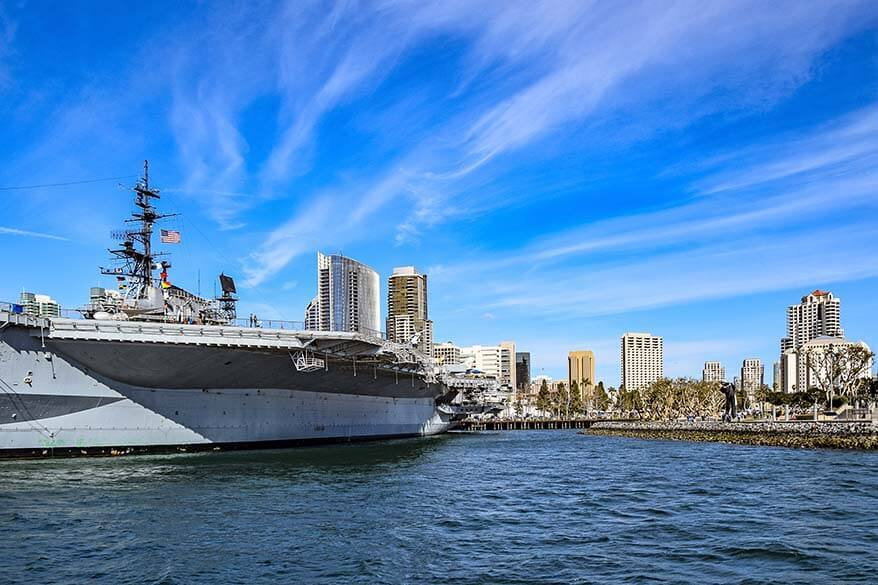 USS Midway Museum is a must in any San Diego itinerary