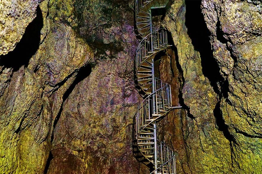 Vatnshellir Lava Cave in Iceland