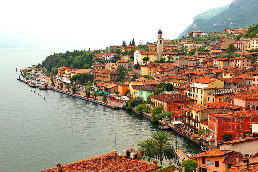 Visiting Limone sul Garda is one of the best things to do in Lake Garda Italy