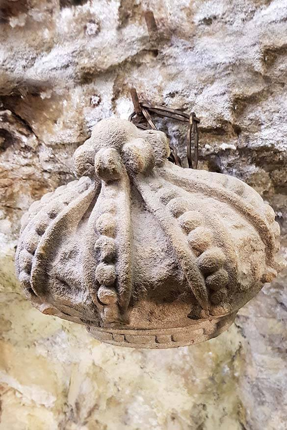Ancient crown found when renovating the building of restaurant Righi in San Marino