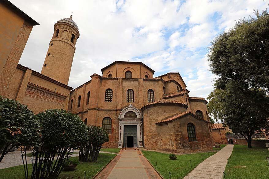 Basilica di San Vitale in Ravenna, Emilia Romagna Italy