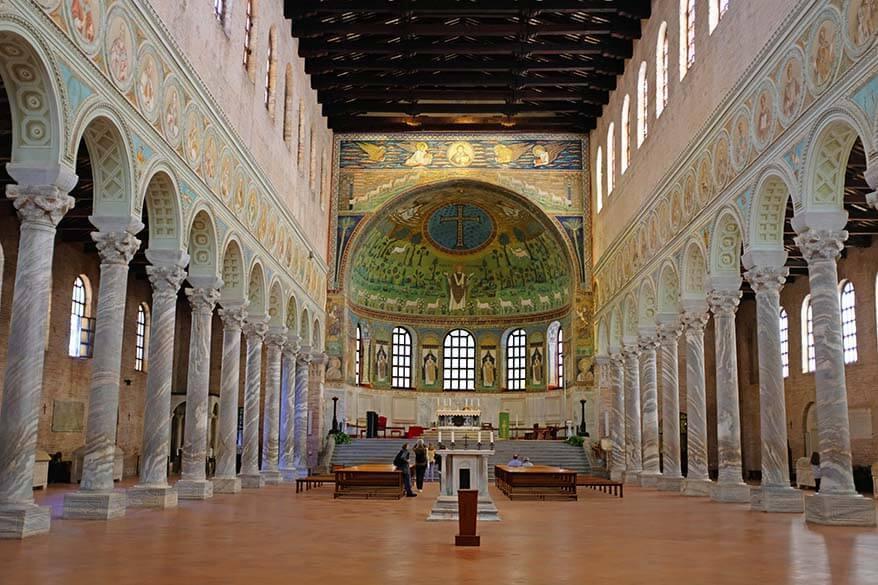 Basilica di Sant Apollinare in Classe near Ravenna Italy
