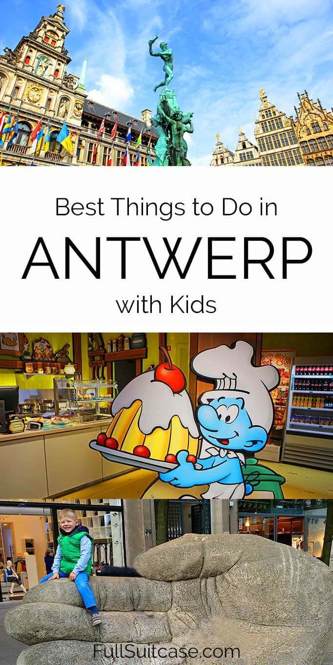 Best places to see and things to do in Antwerp with kids - Belgium