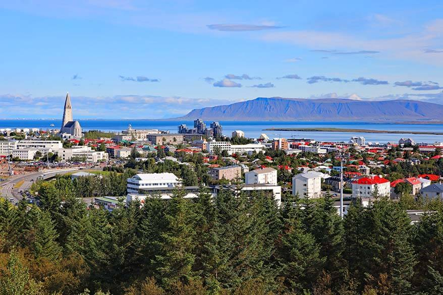 Best viewpoint in Reykjavik - from Perlan Observation Deck