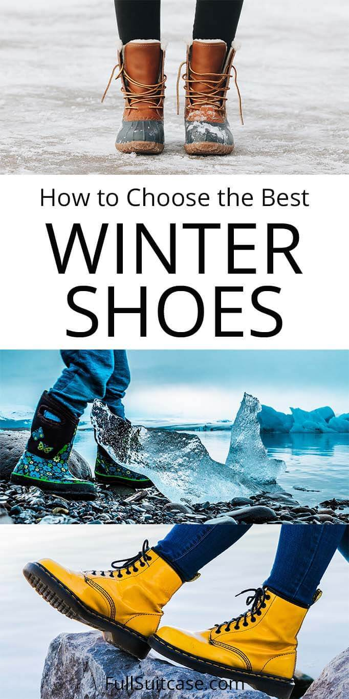 Best winter shoes for kids, women, and men