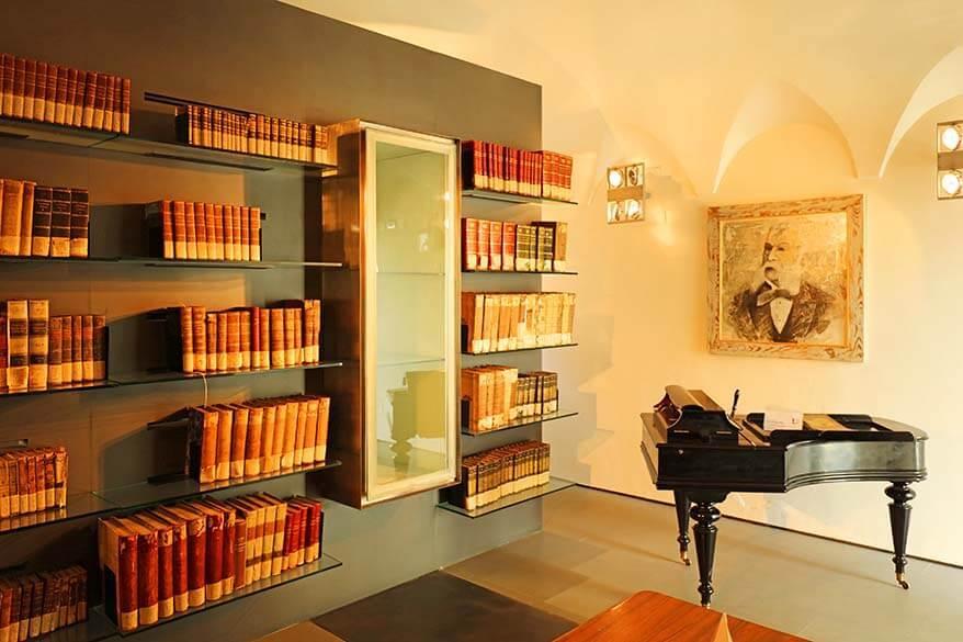 Casa Artusi library - Forlimpopoli Italy