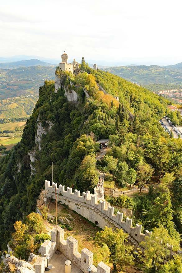 Cesta Tower is must see in San Marino