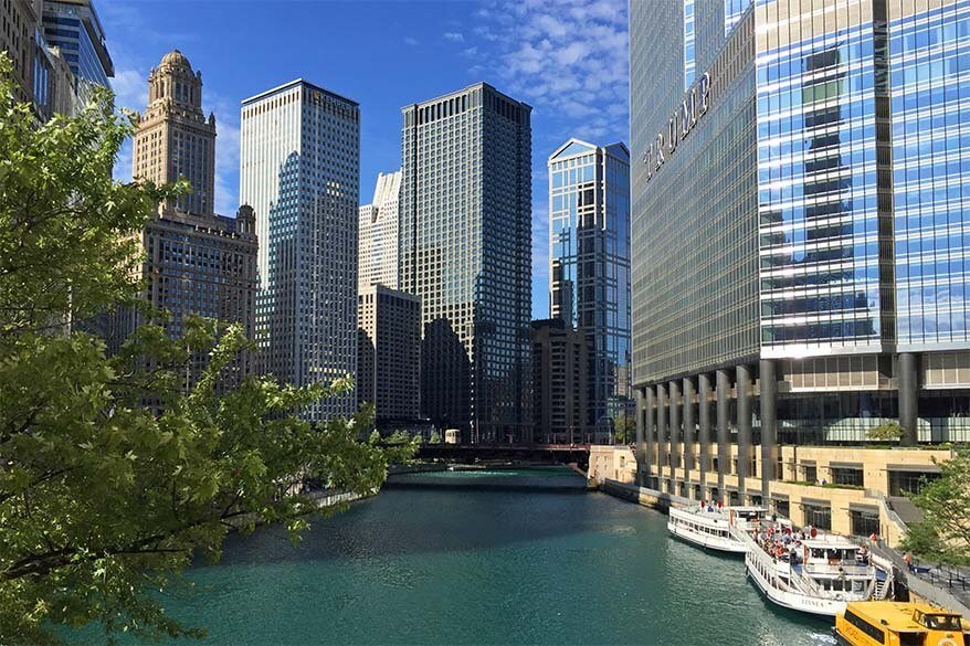 Chicago architecture river cruise is must do in Chicago