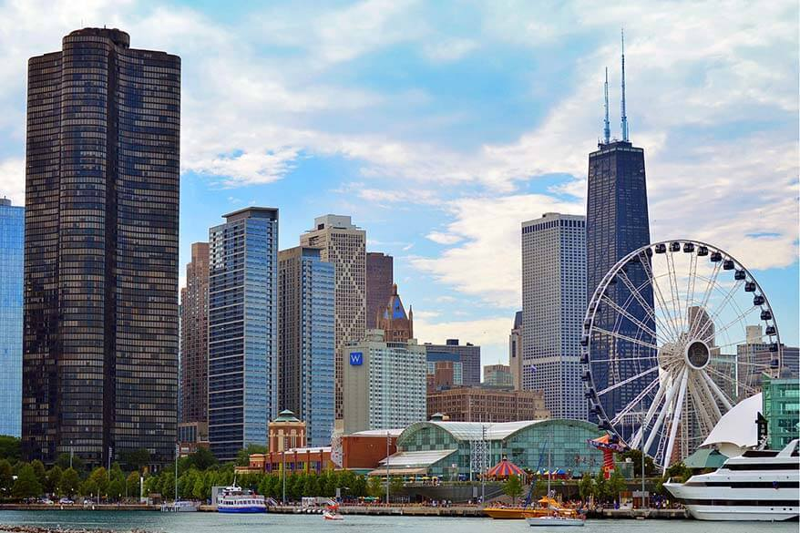 Chicago in two days - don't miss the Navy Pier and the Ferris Wheel
