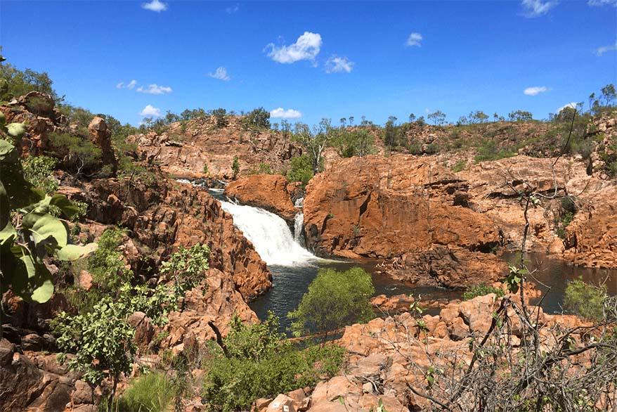 Edith falls in Darwin area in Australia's Top End