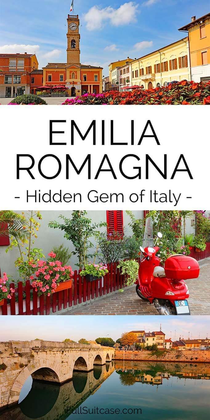 Emilia Romagna region is a true hidden gem in Italy