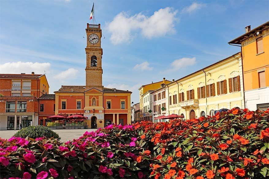 Forlimpopoli in Emilia Romagna region in Italy
