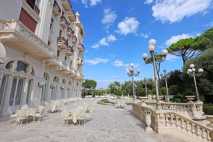 Grand Hotel in Rimini Italy
