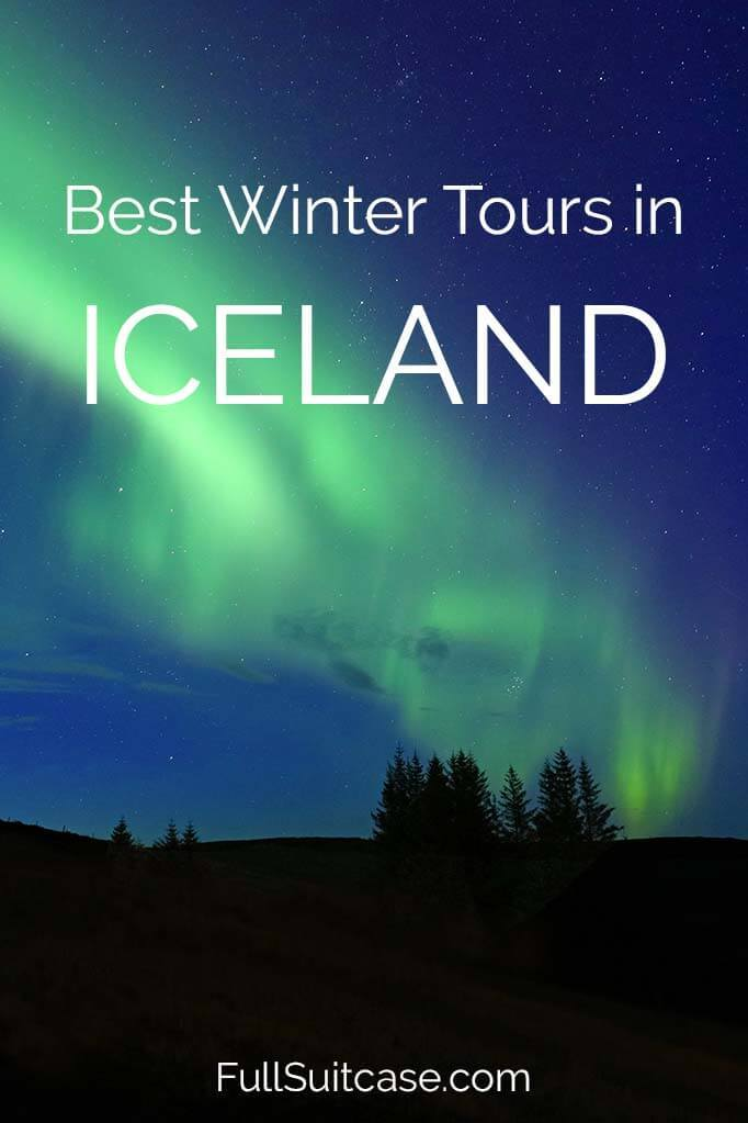 Iceland winter tours and the best day trips from Reykjavik in winter