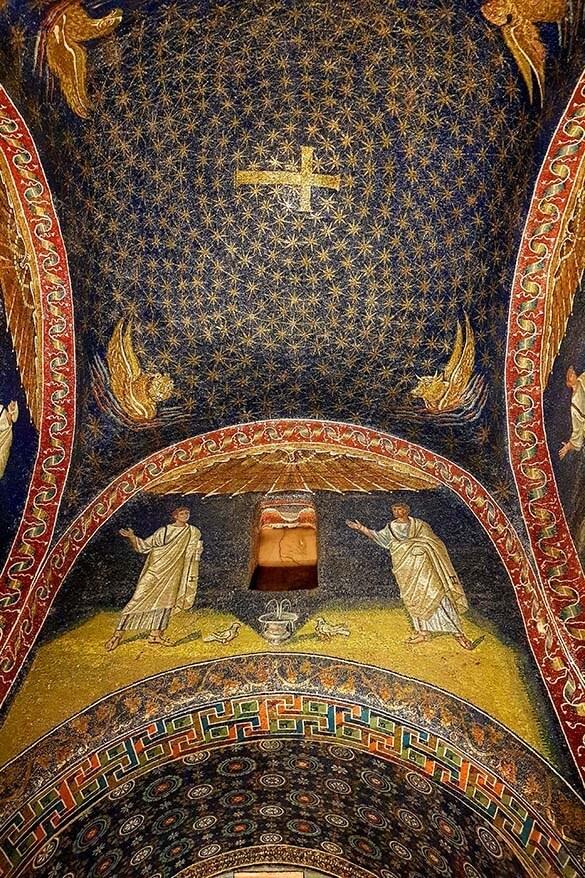 Mausoleo di Galla Placidia mosaics - Ravenna, Italy